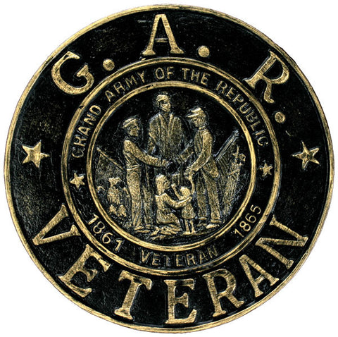 Grand Army of the Republic Thermoplastic Memorial Marker