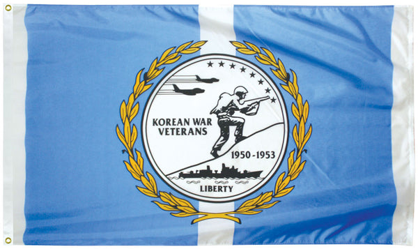 Outdoor Veterans Commemorative Flags - Korean War