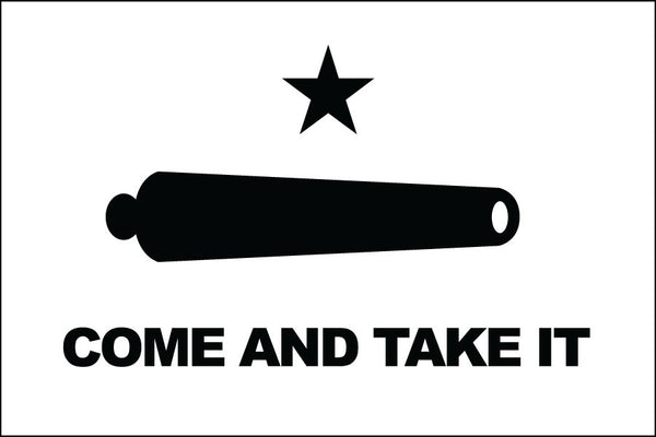 Come & Take It Flag
