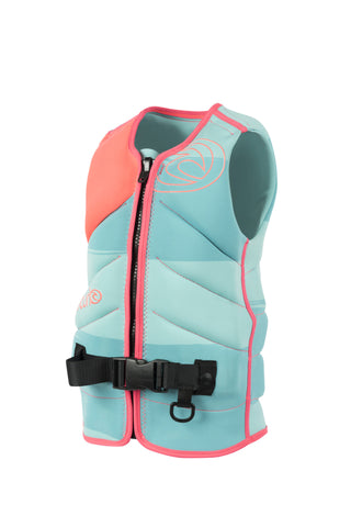 2016 Rip Curl Flash Bomb Women's Lifevest - Torquoise