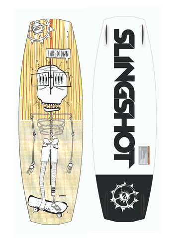 2016 Slingshot Shredtown Wakeboard
