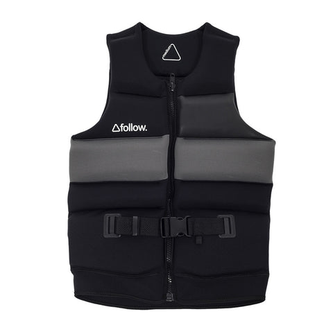 2016 Follow - Mens Basic Vest - Blackout