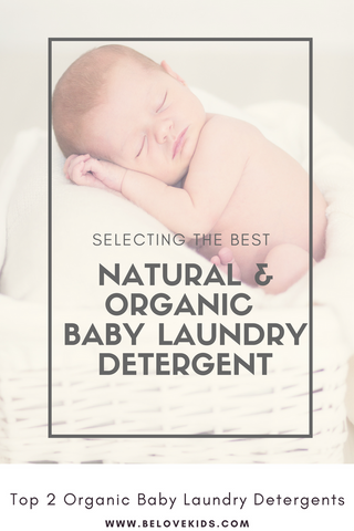 Organic Baby Laundry Detergent BE love kids