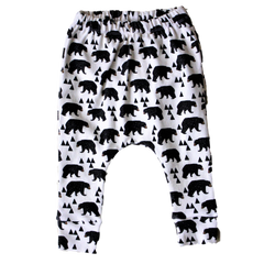 organic bear holiday harem pants holiday gift guide BE love kids