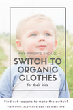 Why Parents Should Switch to Organic Clothes For Their Babies BE LOVE kids