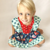 BE LOVE kids school house dress