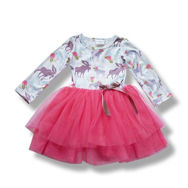 BE LOVE kids Holiday Tutu Dress