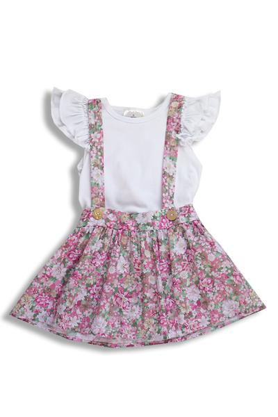 BE LOVE kids floral toddler skirt