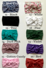 girls bow headbands colors BE LOVE kids