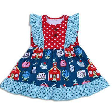 Toddler Schoolhouse Dress BE LOVE kids