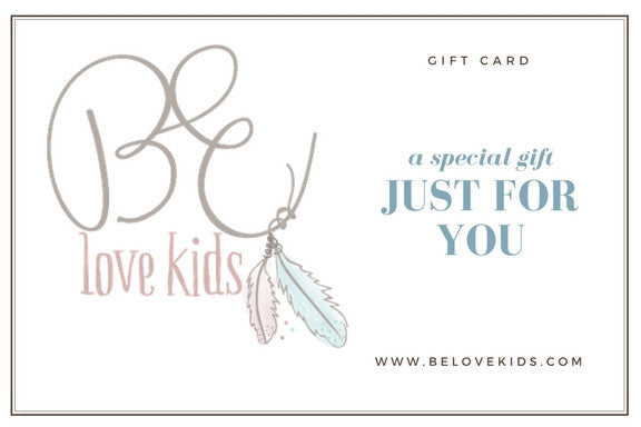 belovekids.com gift card