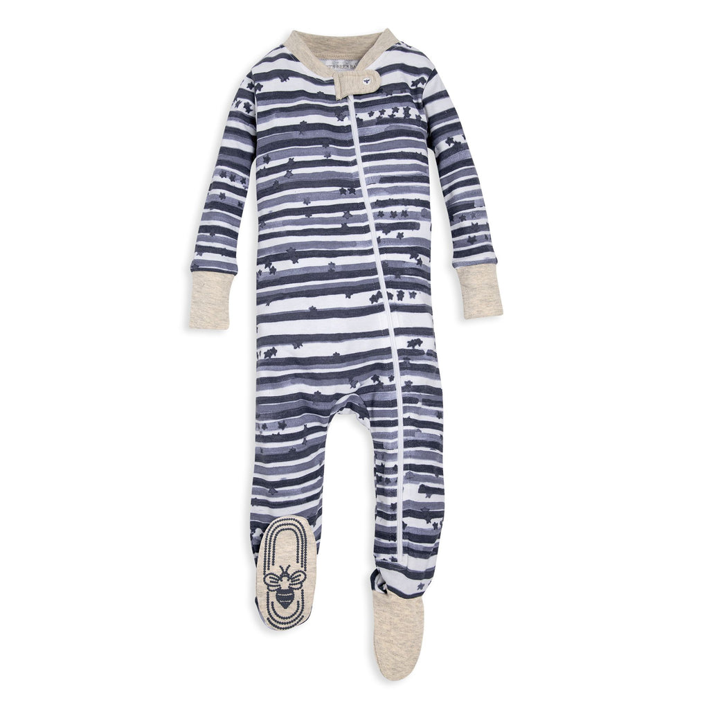 BE LOVE kids organic baby pjs stars
