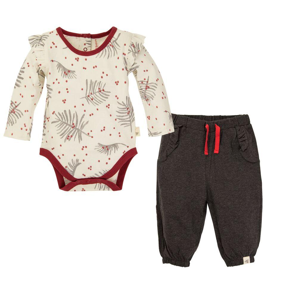 BE LOVE kids organic cotton baby holiday outfit