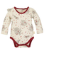 organic cotton baby bodysuit holiday BE LOVE kids