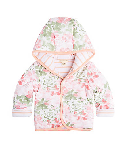 organic cotton baby girl spring jacket BE LOVE kids