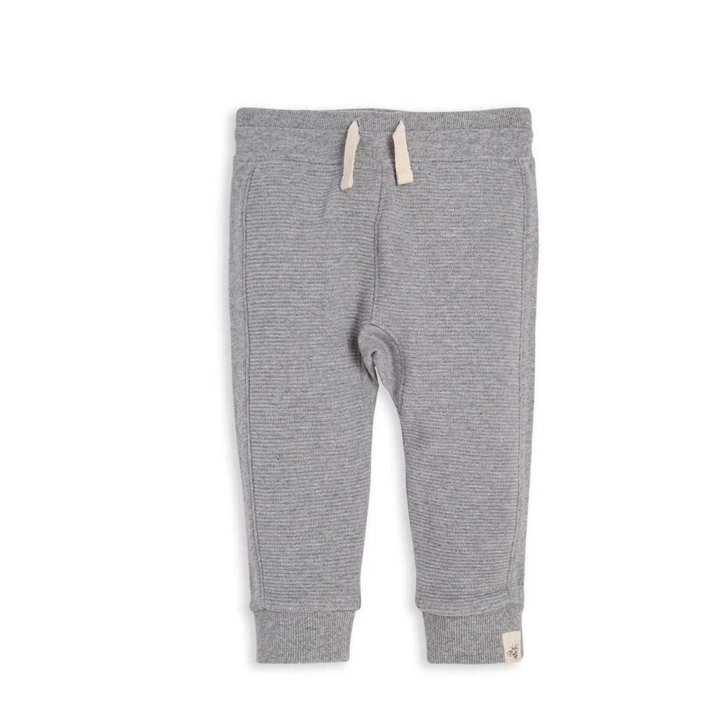 Organic Cotton Baby Sweatpants Grey