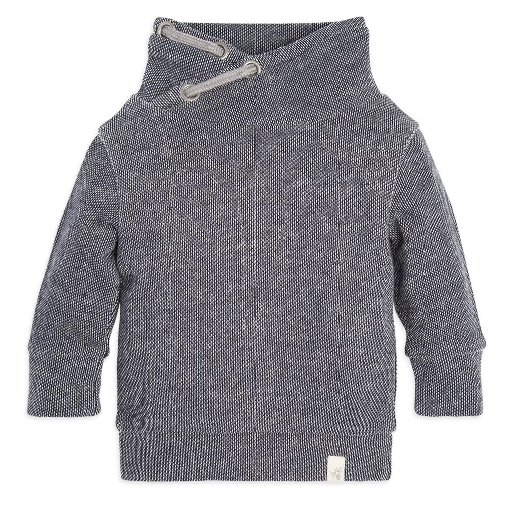 organic cotton baby sweatshirt grey BE LOVE kids
