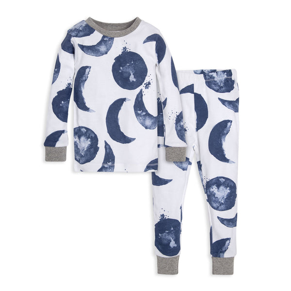 organic cotton kids pajamas moons BE LOVE kids