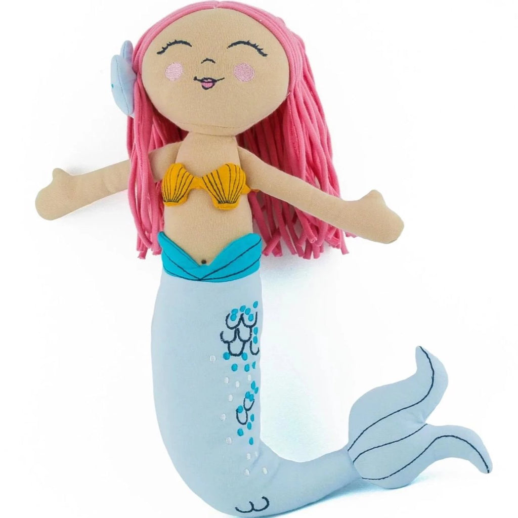 organic cotton mermaid doll BE LOVE kids