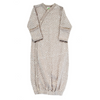 organic cotton kimono gown grey BE LOVE kids