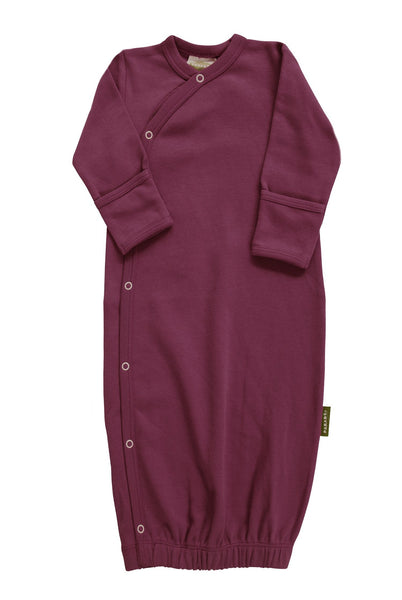 BE LOVE kids organic cotton sleep gown wine
