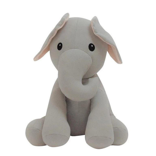 organic cotton stuffed elephant BE LOVE kids
