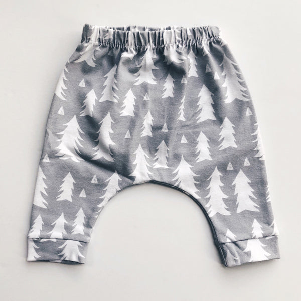 Organic Cotton Baby & Toddler Tree Harem Leggings