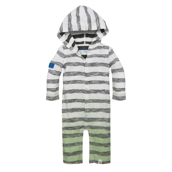 organic hooded coverall
