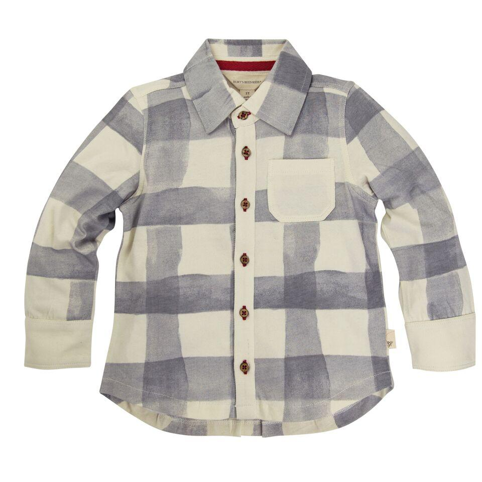 ab6ba4fc26b Organic Cotton Toddler Button Down Plaid Shirt