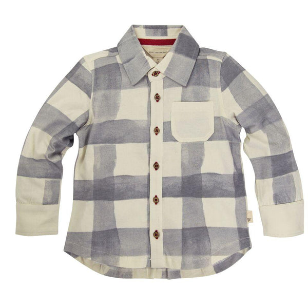 organic toddler button shirt Burt's Bees Baby
