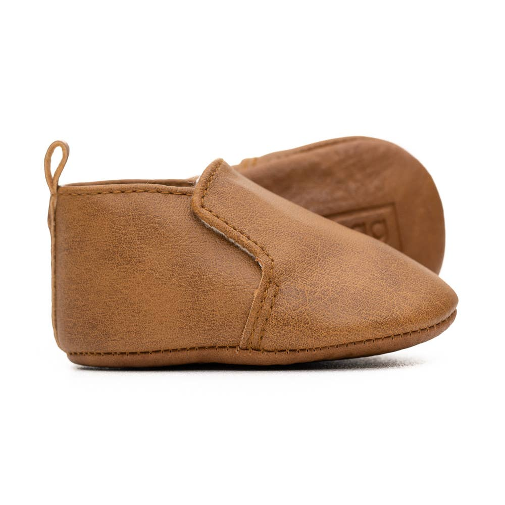 brown baby booties BE LOVE kids