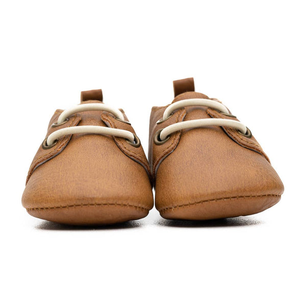tan brown baby oxford shoes BE LOVE kids