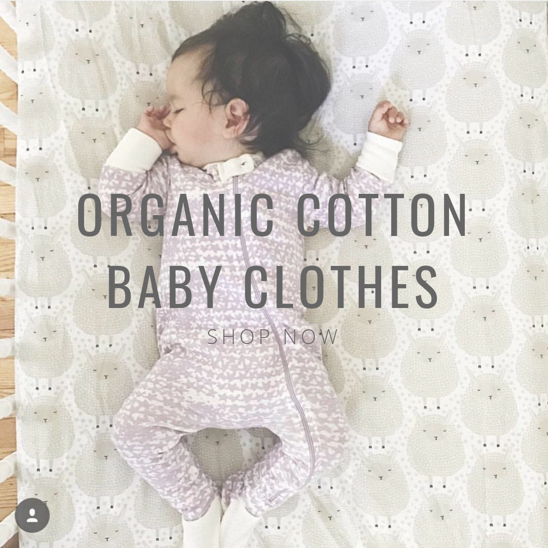 organic kids clothes 0-3 months