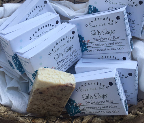 Blueberry and Aloe Farm fresh soap