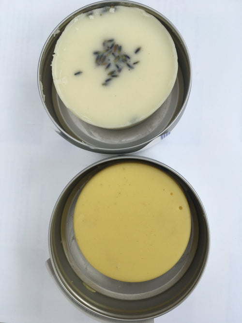 Mango Butter Lotion Bars Calendula,  Lavender Rose