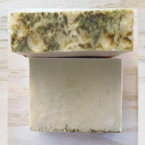 Seaweed and Sea salt soap