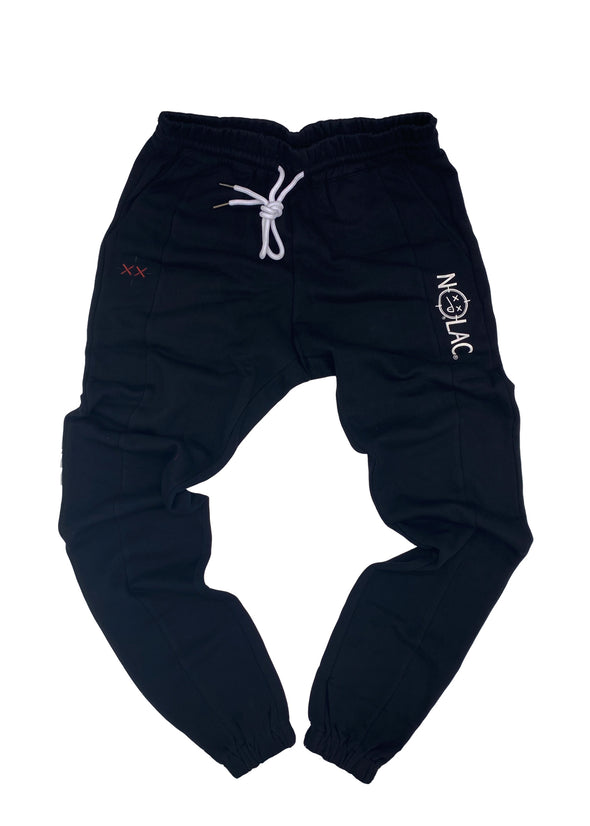 Legacy Print French Terry Jogger (Black)