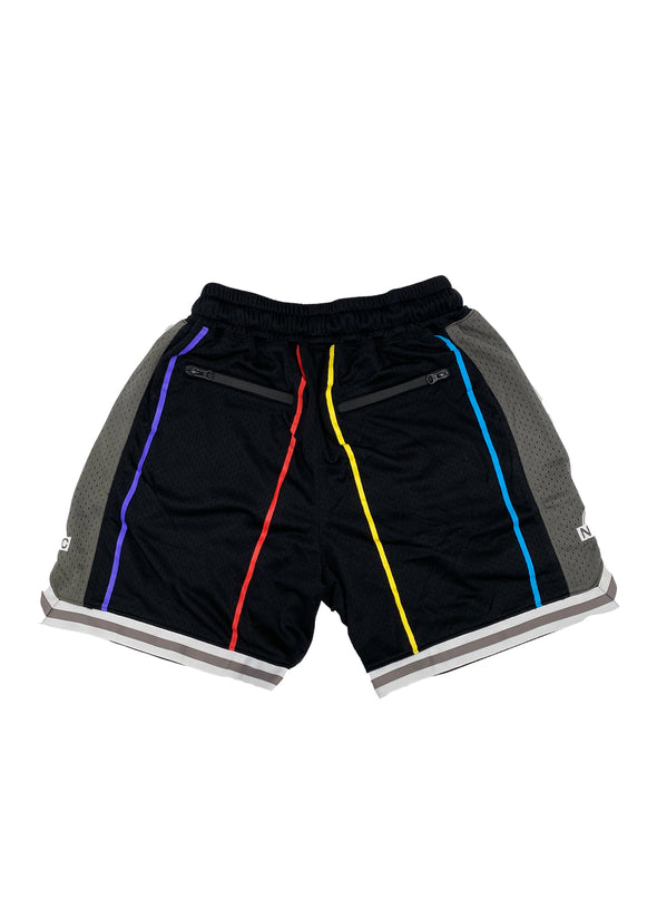 Sunrise Hoop Shorts (Black/Grey)