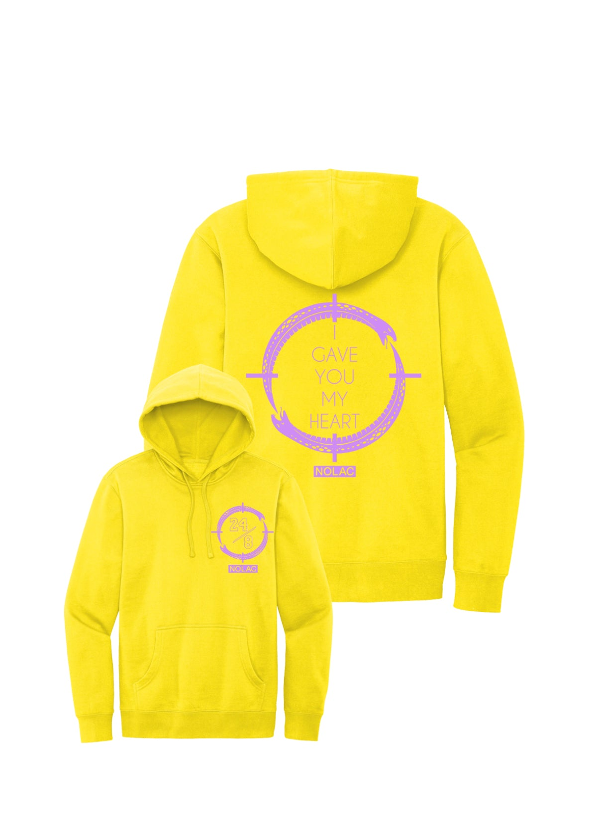 Legendary Hoodie (Light Yellow)