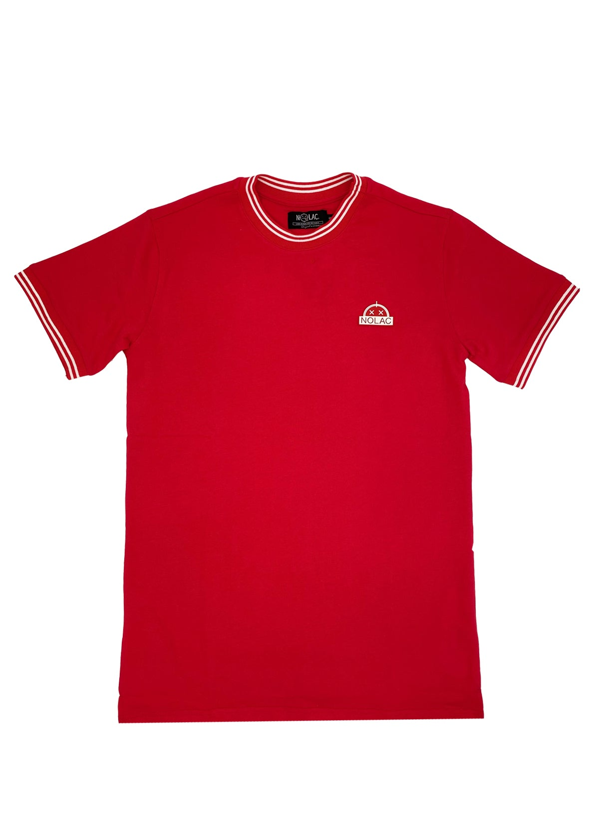 LoopBack Ribbed T (Red)