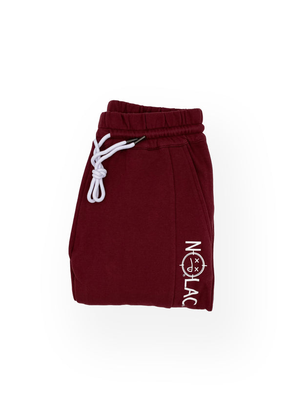 Legacy Print French Terry Jogger (Oxblood)