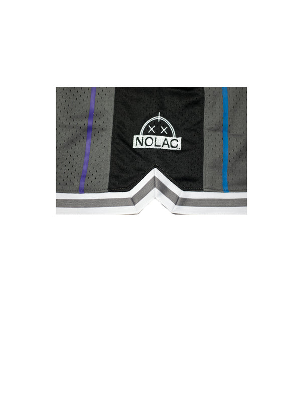Sunrise Hoop Shorts (Grey/Black)