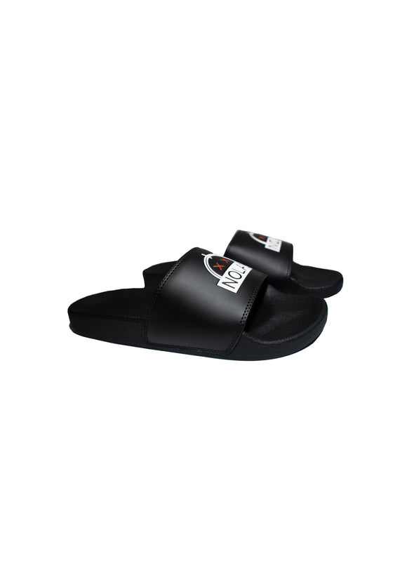 Sunrise Debossed Slide Sandal (Unisex)