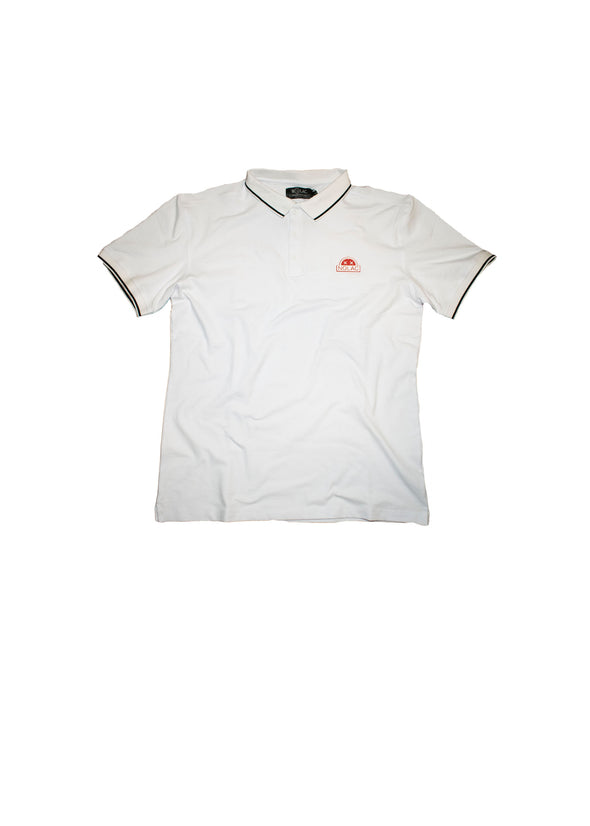 Sunrise Collared T (White)