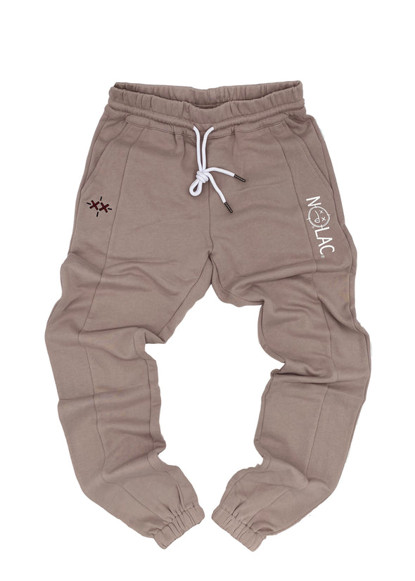 Legacy Print French Terry Jogger (Sand)