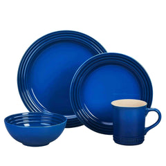 Le Creuset Stoneware 16 Piece Dinner Set - Kitchen Smart