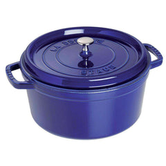Round French Oven - Staub Cast Iron 13 Qt (12.5L) Round Cocotte