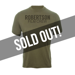 Military Green Robertson Crew Shirt