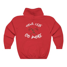Unisex Think Less, Do More 2018 Heavy Blend Hooded Sweatshirt