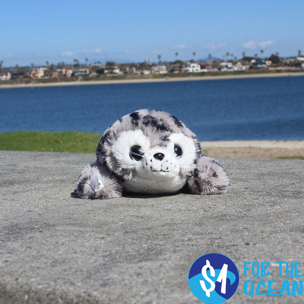 Shore Buddies Plush Harbor Seal 12""